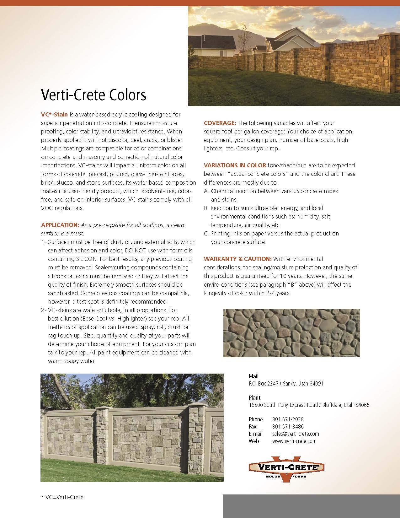 Concrete Stain Verti Crete