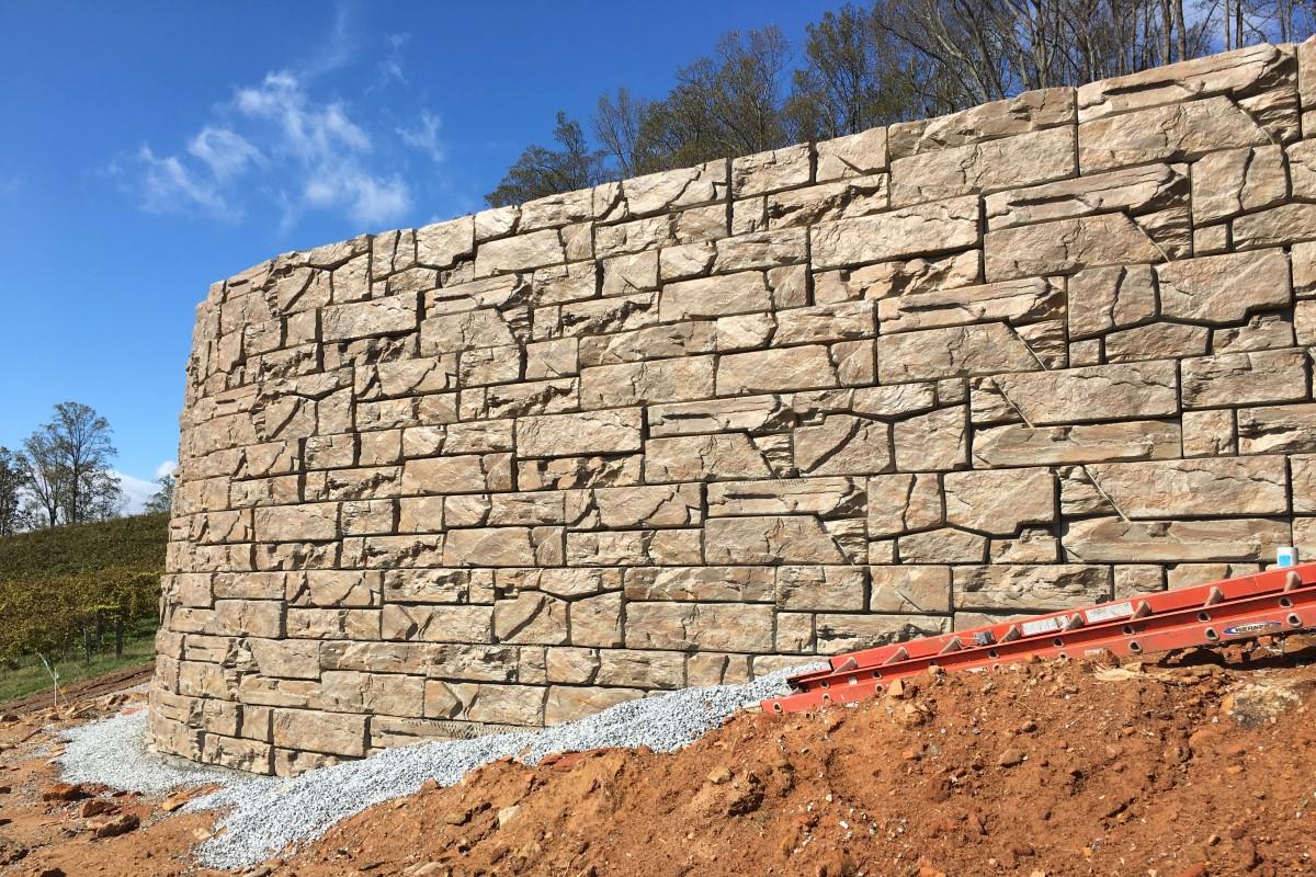 Verti Block Retaining Walls Verti Crete